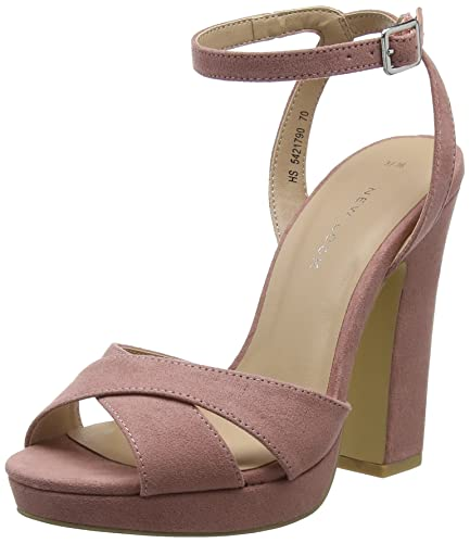 e710a73ed57 New Look Women s 5421790 Ankle Strap Heels  Amazon.co.uk  Shoes   Bags