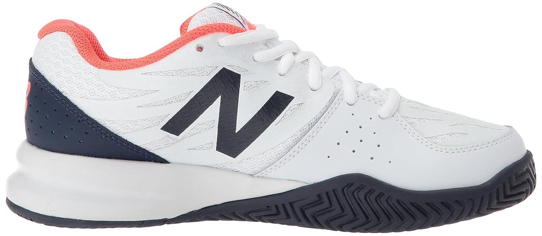New Balance Weiß Woherren 786v2 Tennis schuhe Vivid Coral Weiß Balance 85 D US f9db45