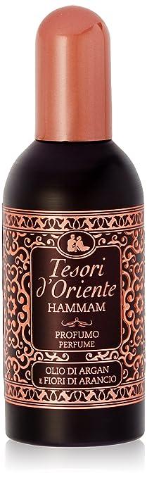 6 opinioni per Tesori d'Oriente Hammam Profumo con Olio d'Argan e Fiori di Arancio- 100 ml