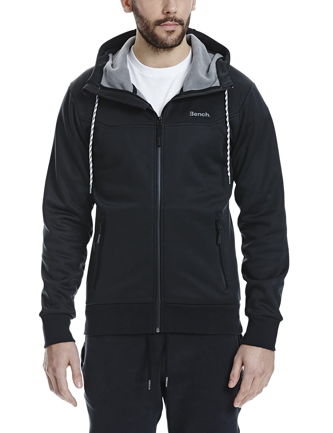 Bench Herren Consumer Trainingsjacke BEO2X|#Bench BMEF0137