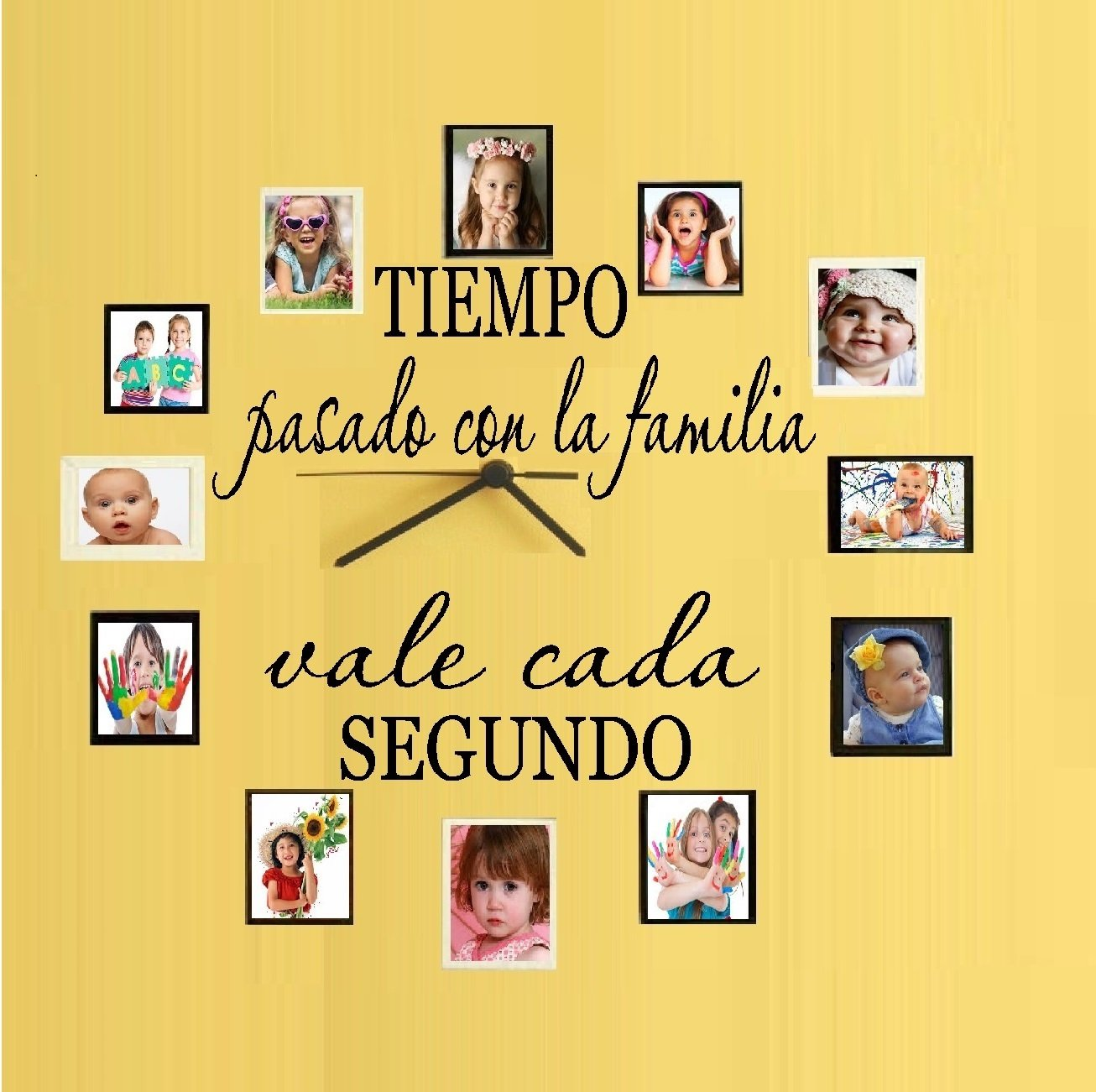 Amazon.com: TIME spent with family, is worth every SECOND (Spanish ...