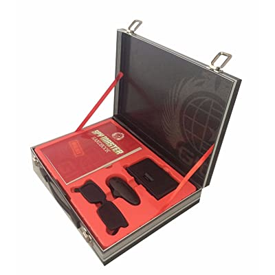 Spy Master Briefcase Black Spy kit - Secret agent mission handbook with top spy gear and gadget surveilance: Top That!: Clothing