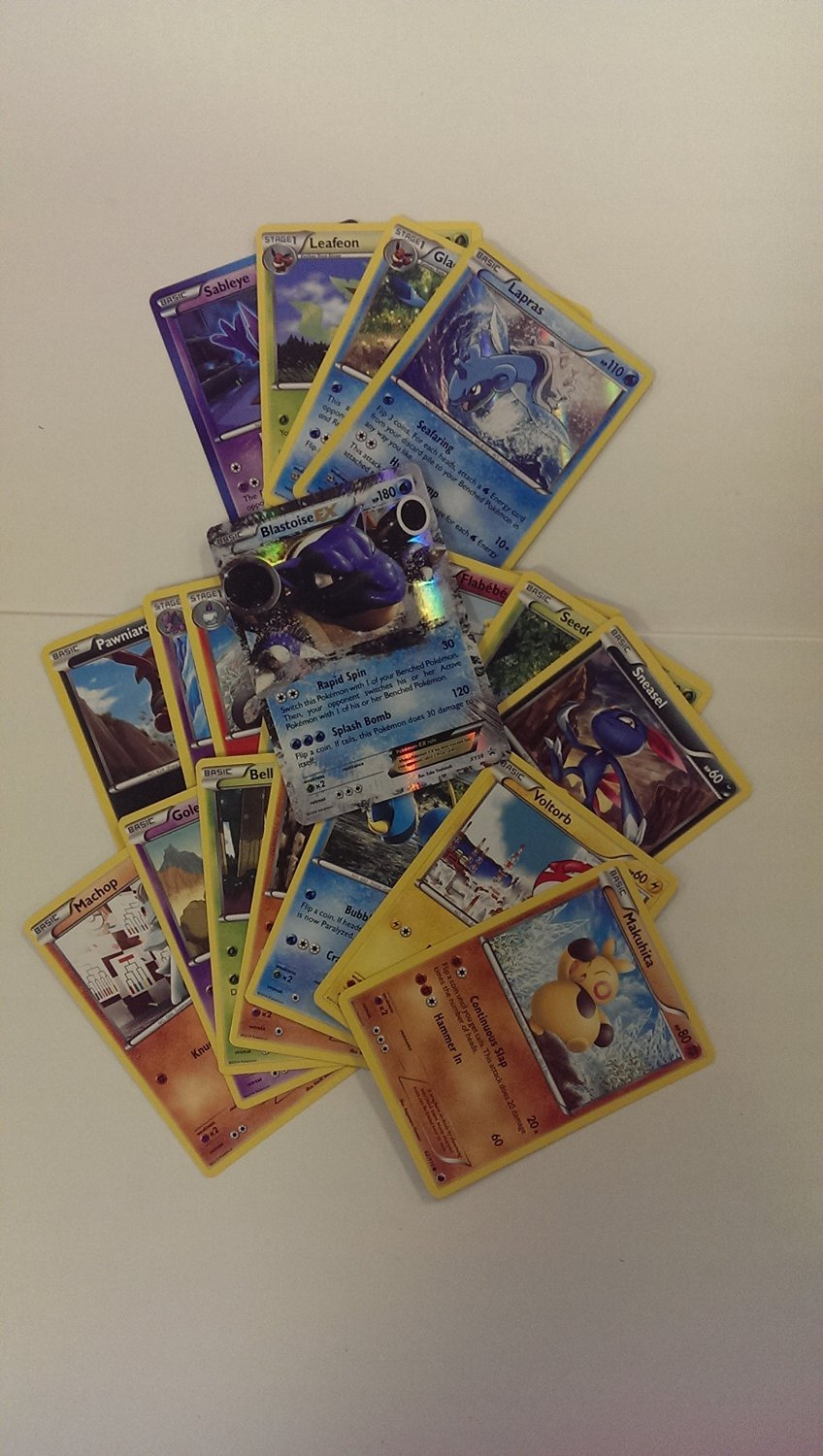 Lot of 20 Pokemon TCG Cards including 1 Ultra Rare, 4 Rares, and 15 Commons/Uncommons B00G05STHK