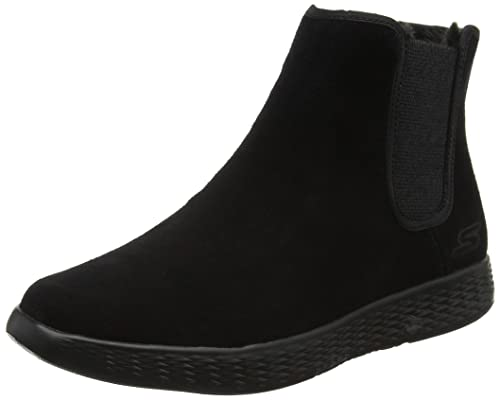 Skechers On-The-go Glide, Botas Chelsea para Mujer, Negro (Black
