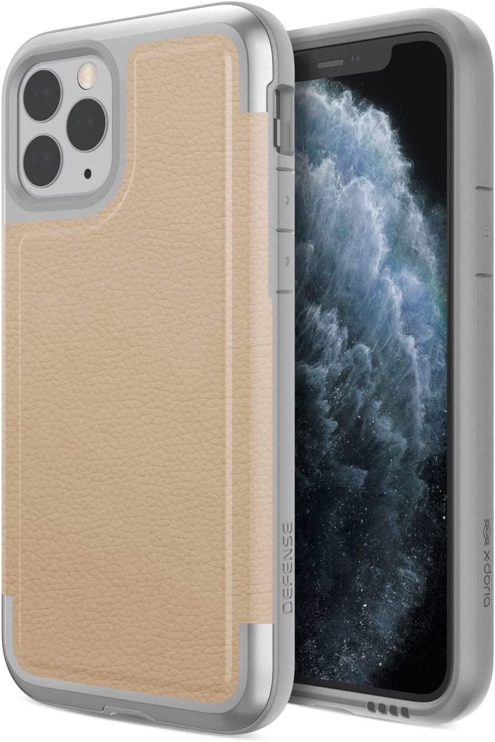 Raptic Prime, Compatible with Apple iPhone 11 Pro Case (Formerly X-Doria Prime) - Military Grade Drop Tested, Aluminum Frame, Luxurious Back Panel, ...