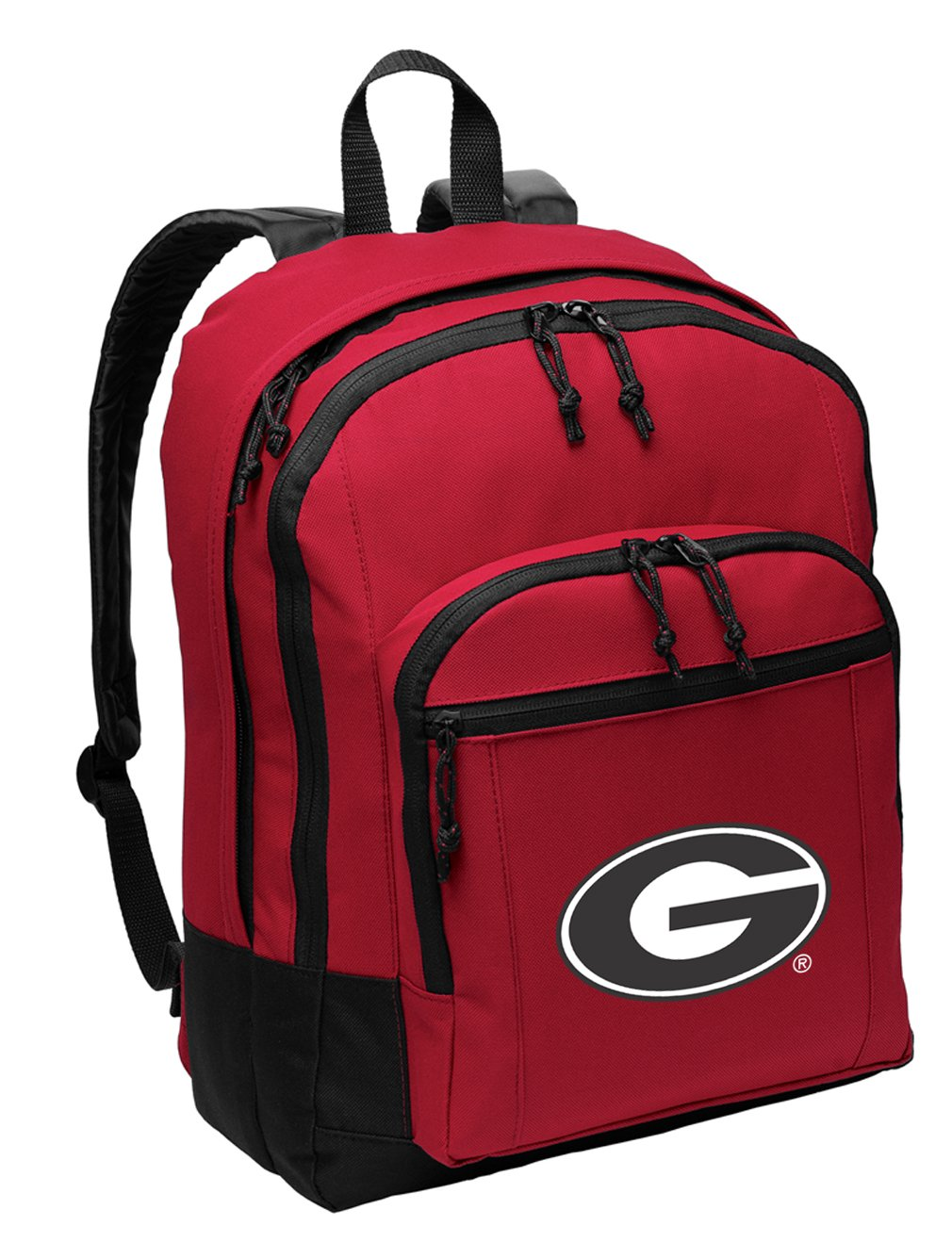 Broad Bay University of Georgia Backpack MEDIUM CLASSIC Style With Laptop Sleeve