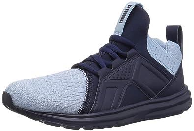 7ba2a084c24 PUMA Unisex Enzo AC Sneaker, Cerulean-Peacoat, 2 M US Little Kid