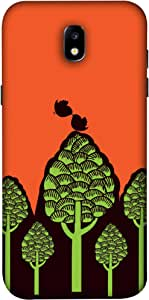 ColorKing Samsung J5 Pro 2017 Case Shell Cover - Trees Multi Color