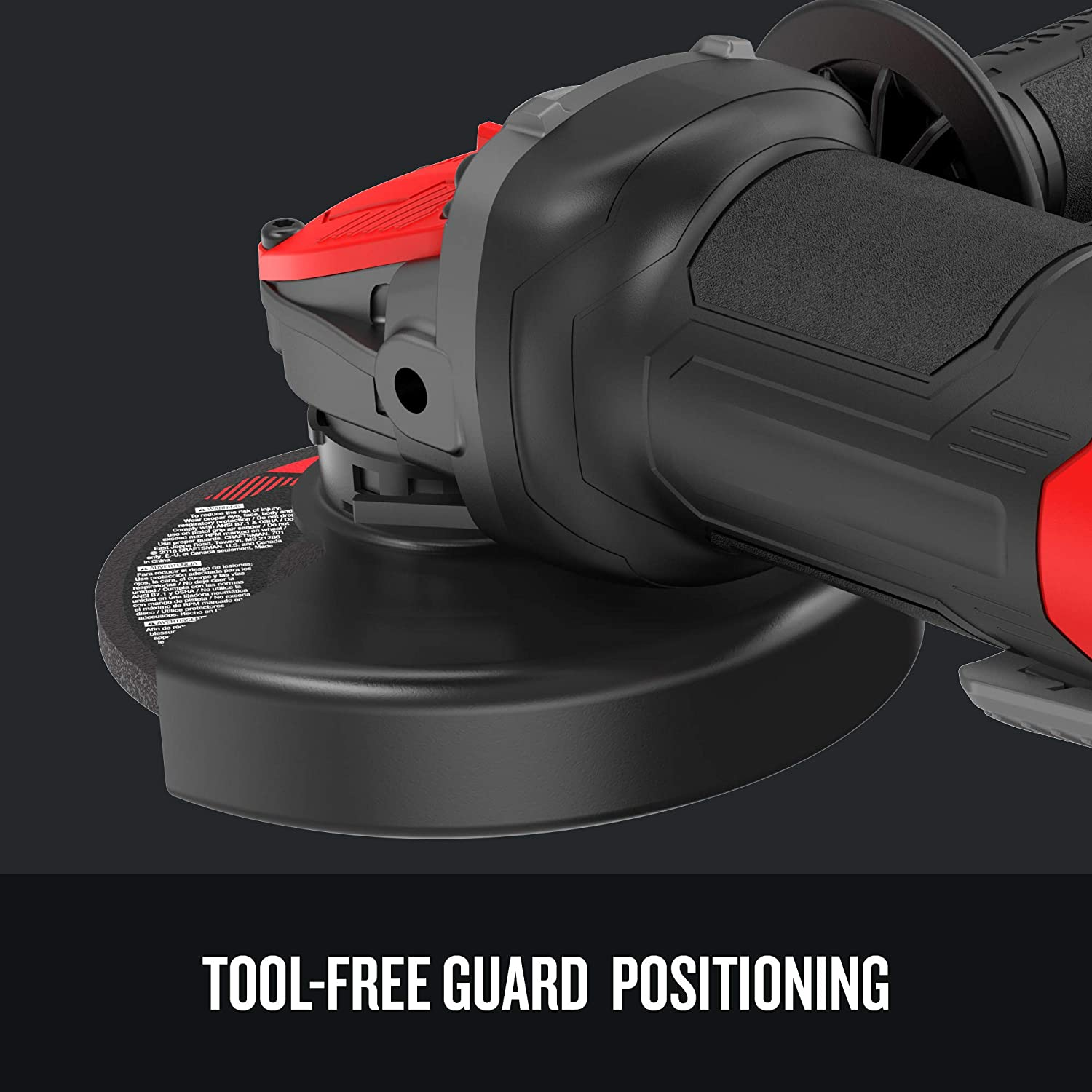 CRAFTSMAN CMEG200 4.5IN 7.5AMP SMALL ANGLE GRINDER