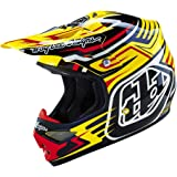 Troy Lee Designs Air Scratch Helmet - Yellow / Large