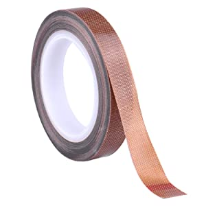 PTFE Tape/Teflon Tape for Vacuum Sealer Machine,Hand and Impulse Sealers (1/2-inch x 33 Feet)-Fits FoodSaver, Seal A Meal, Weston, Cabella's and Many More