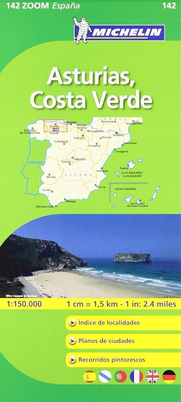 Mapa Zoom Asturias, Costa Verde (Mapas Zoom Michelin): Vv.Aa, Vv.Aa: Amazon.es: Belleza