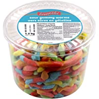 Irresistibles - Sour Gummy Worms Candy 1.2 KG