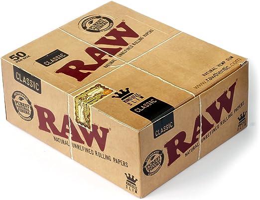 Raw Papel de Fumar - 50 Librito: Amazon.es: Belleza
