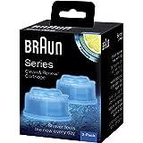 Braun Clean&Charge Reinigungskartuschen 5331702, Braun Series 3-9 Elektrorasierer, 2 Stück
