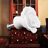 Ya Jin 10PCS Rose Flower Ceramic Kitchen Cabinet