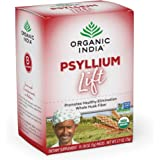 Organic India Psyllium Lift, Single Serve - Natural, Bulk-Forming Dietary Fiber Supplement for GI Support, Regularity and Overall Health