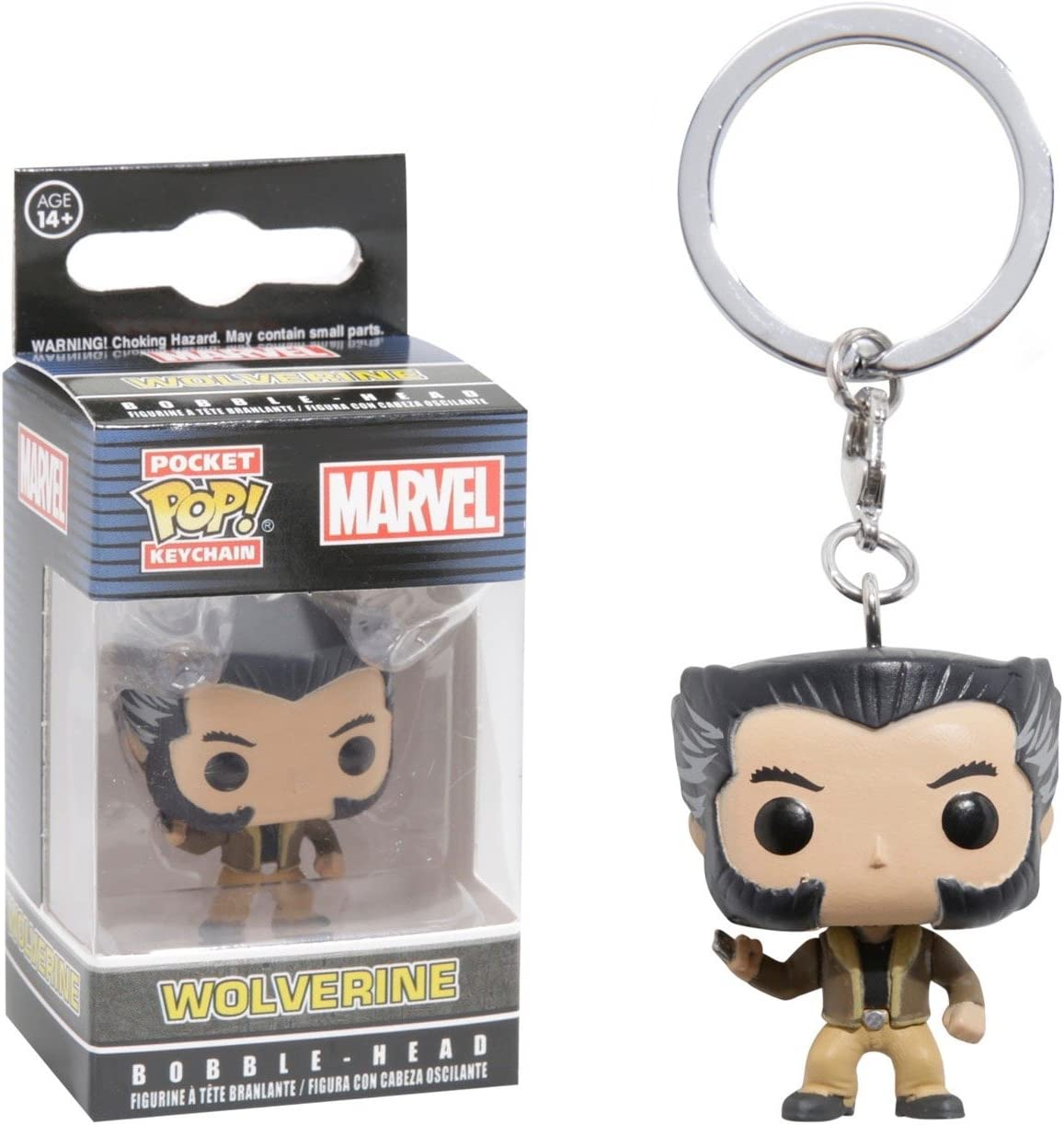 Pocket POP! Keychain - Marvel: X-Men Logan: Amazon.es: Juguetes y ...
