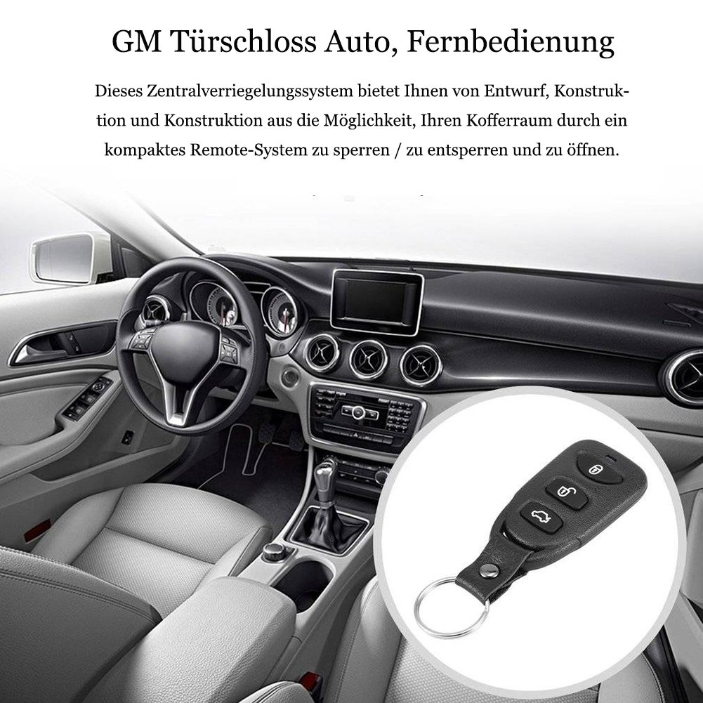 GM Remote Zentralverriegelung 12V Türschloss: Amazon.de: Elektronik