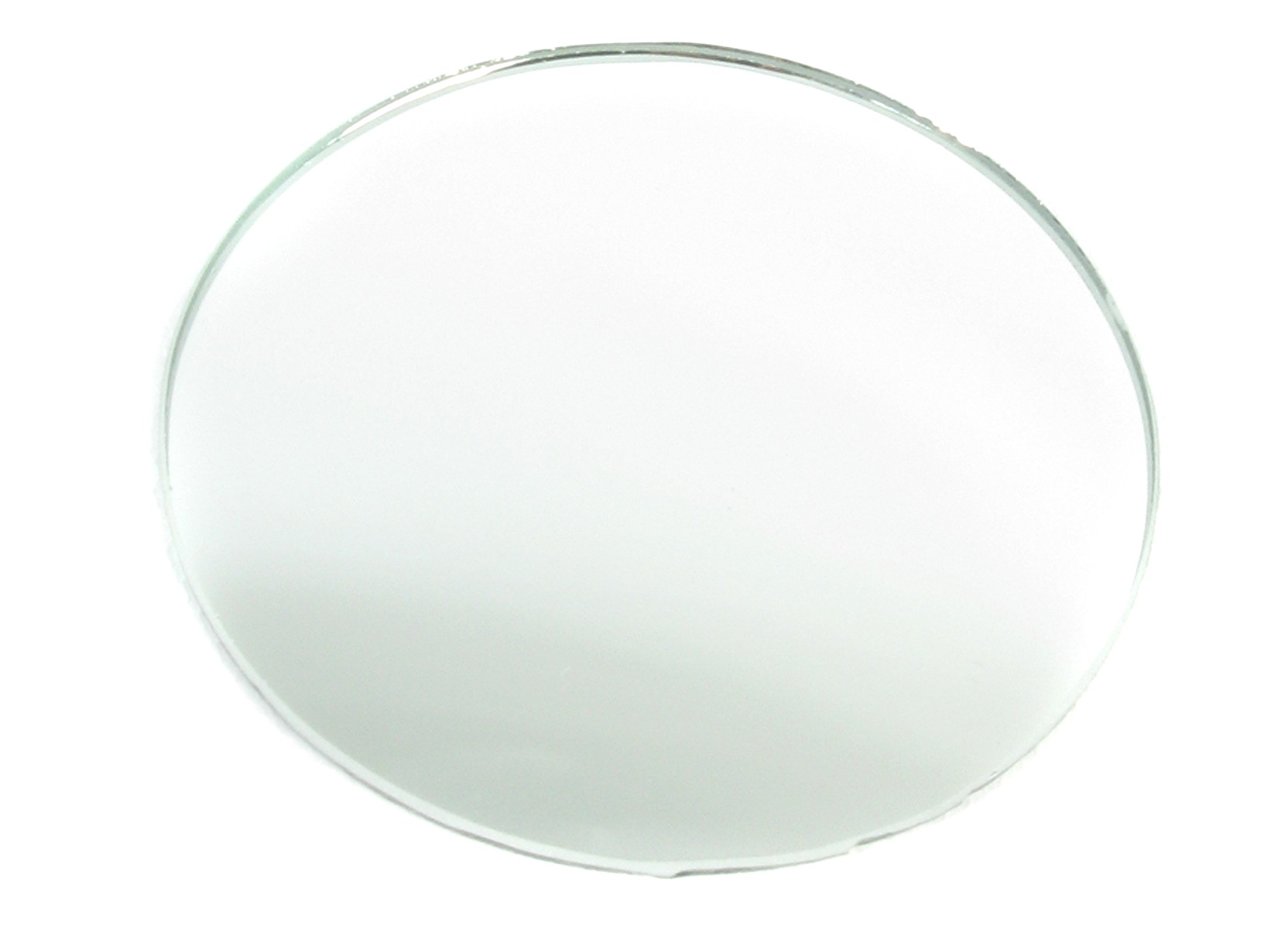 American Educational Concave and Convex Spherical Glass Mirror, 7.5cm Diameter, 25cm Focal Length (Bundle of 5)