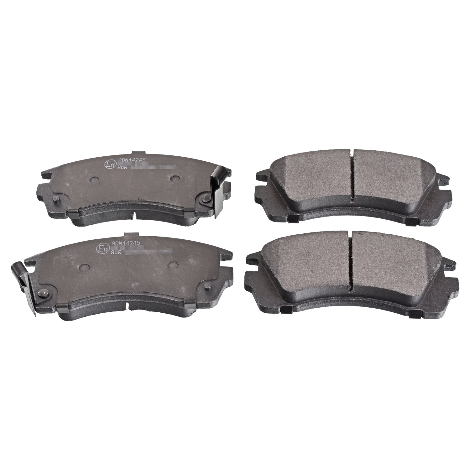 Disc Brake Pad Set Front compatible with Nissan Sunny III Wingroad Ad 41060-86R85