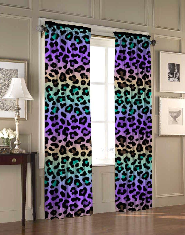 Heritage Kids Ombre Cheetah Window Panel, Multicolor