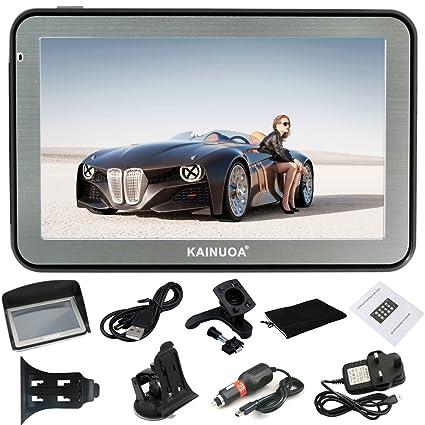 Caín uoa® 5 pulgadas 8 GB Europe Traffic GPS Navi Navegación dispositivo Sistema de navegación con tarjeta gratuita por actualizaciones ...