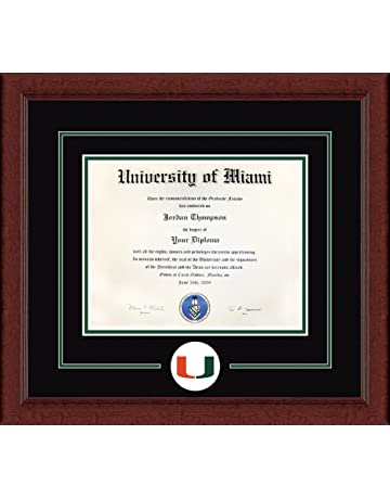 amazon com diploma frames décor sports outdoors