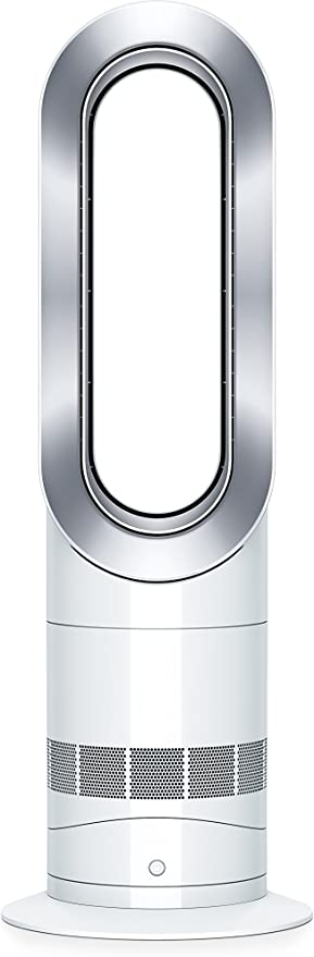 Dyson (61874-01) Hot + Cool Jet Focus AM09 Fan Heater White/Silve