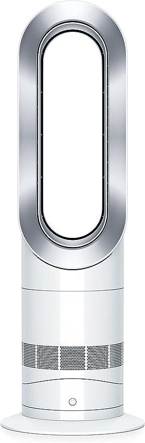 Dyson (61874-01) Hot + Cool Jet Focus AM09 Fan Heater White/Silver