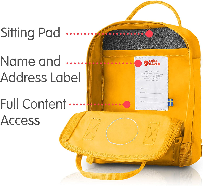 Kanken Mini Classic Backpack for Everyday Fjallraven