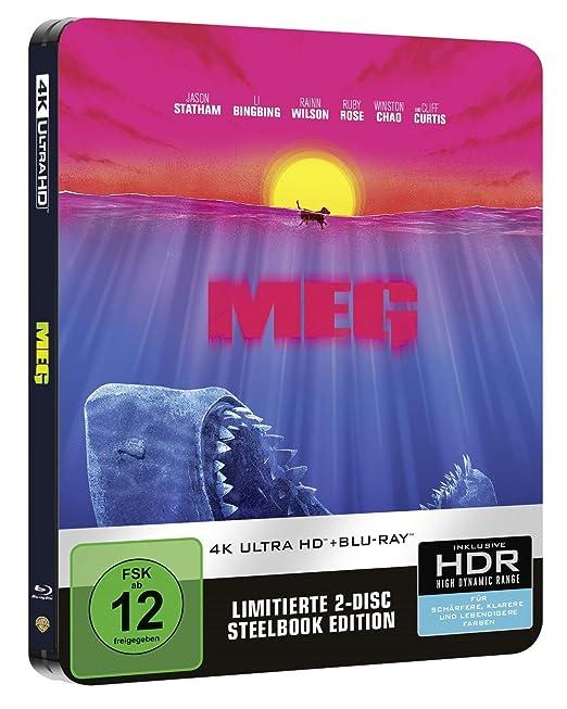 Meg 4K Steelbook exklusiv bei Amazon.de Blu-ray Limited Edition ...