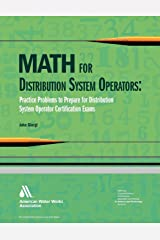Math for Distribution System Operators: Practice Problems to Prepare for Distribution System Operator Certification Exams Spiral-bound