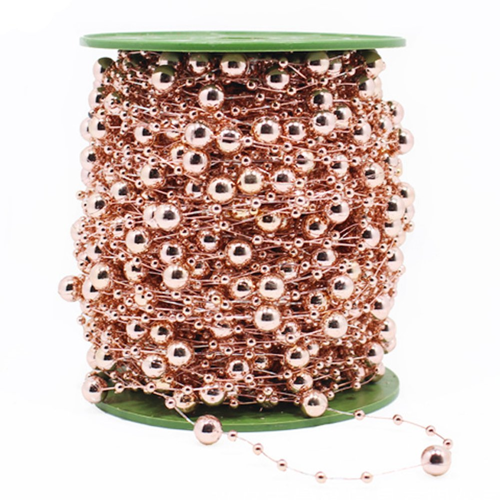 30-Yard-Rose-Gold-DIY-Party-Supply-ABS-Artificial-Pearl-Beaded-Flower-String-Garland-for-Bridal-Wedding-Bouquet-Tea-Party-Garden-Craft-Decoration