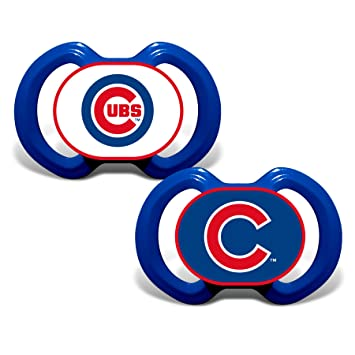 Amazon Baby Fanatic Gen 3000 Pacifier Chicago Cubs 2 Pack