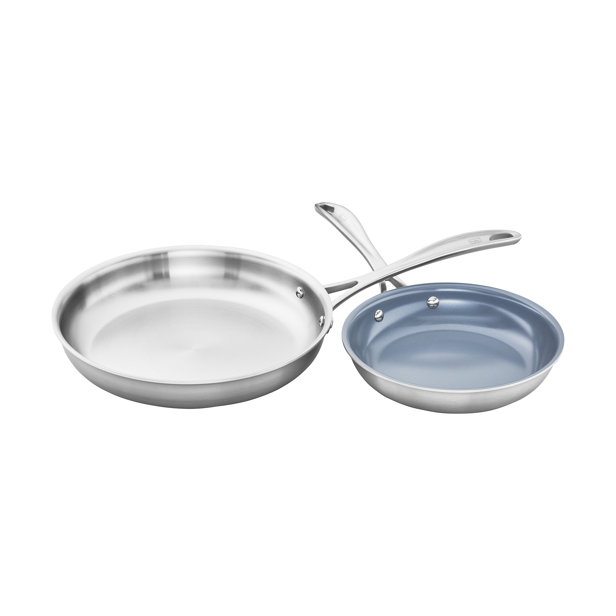 ZWILLING Spirit 3-ply 2-pc Stainless Steel Fry Pan Set