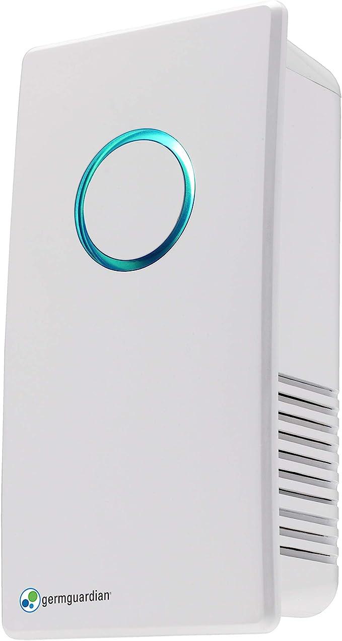 GermGuardian GG1000 desodorizante y desinfectante UV-C para quitar los gérmenes refresca el aire y reduce los olores de mascotas humo moho cocina