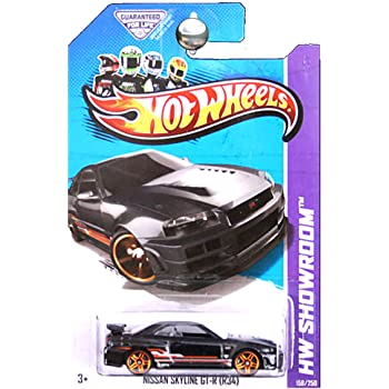 Amazon Hot Wheels Then And Now 2014 Hw Workshop Black Nissan