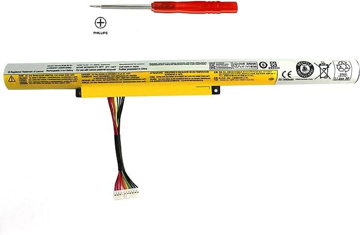 SKY BOY L12S4K01 Z400 Battery Compatible Lenovo IdeaPad P400 P500 Z500 P400 Z410 Z510 4INR19/66 Z500A L12S4E21 L12L4K01 L12M4K01 L12M4E21 L12M4F02 Z400A 4INR19/65 4INR19/66 59400195 Laptop Batteries