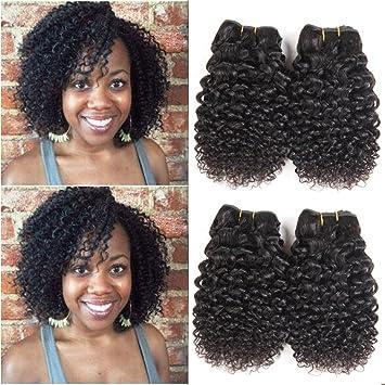 Brazilian Virgin Hair Kinky Curly 4 Bundle Deals 10A Grade 100% Unprocessed  Remy Virgin Brazilian f3e343d58c1f