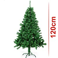 Classic Artificial Realistic Natural Branches Pine Christmas Tree Xmas Green-Unlit 4FT, 5FT, 6FT,7FT,7.5FT