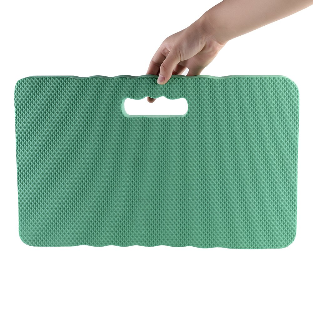 Thick Kneeling Pads,Foam Kneeling Mat with Handle for Gardening 1.6 Machine Repairs Baby Bath,and Outdoor Seating Cushion at Concerts and Games-Extra Thick Exercise