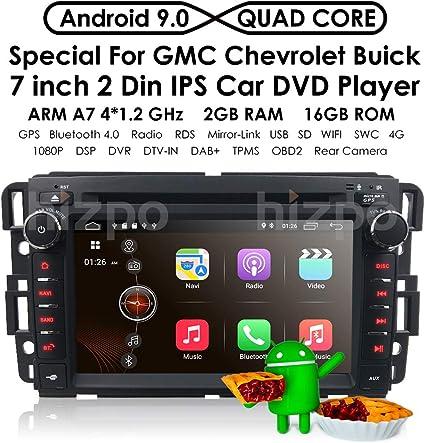 Amazon Com Android 9 0 Car Stereo For Chevy Silverado Gmc Sierra