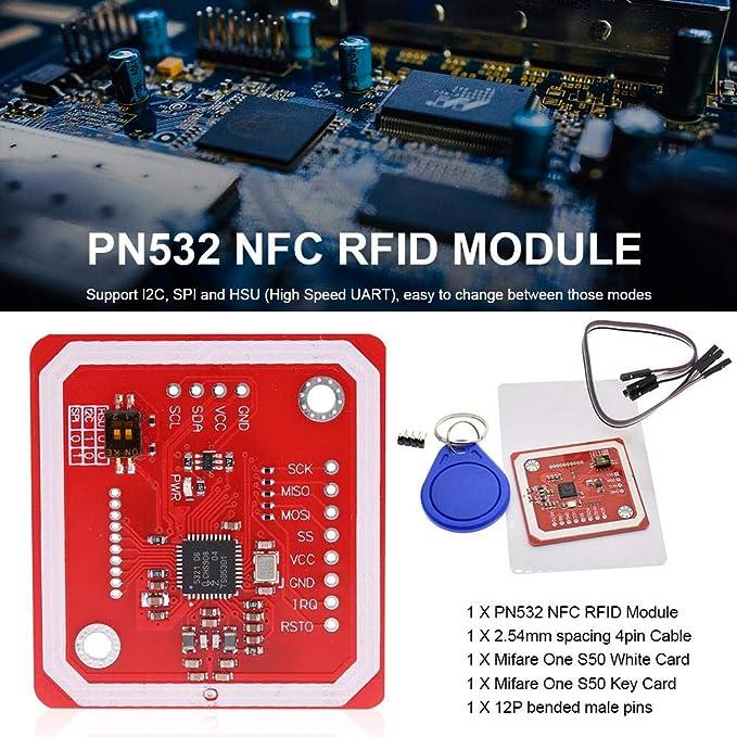 Amazon com: Gereton PN532 NFC RFID Wireless Module V3 User