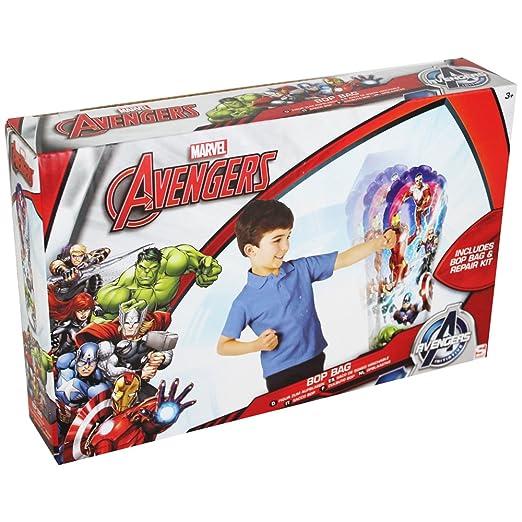 Marvel Avengers Bop Bolsa hinchable Saco de boxeo Wobble ...