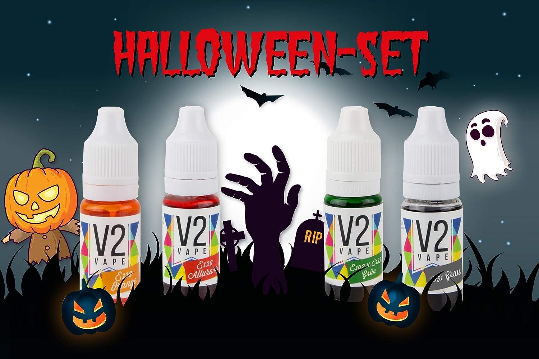 V2 Colorante alimentario de Vaina Extremadamente Concentrado, líquido para Colorear Bebidas, masas, coberturas y Todos los demás Productos alimenticios Set ...