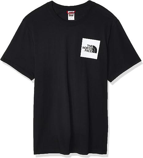 TALLA M. The North Face M S/S Fine Camiseta de Manga Corta Hombre