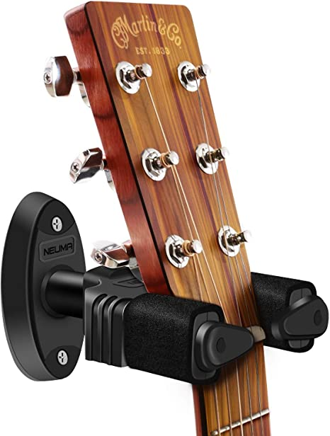 NEUMA Soporte de guitarra para montaje en pared, soporte de gancho ...