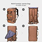 Canvas Backpack WITZMAN Vintage Travel Backpack