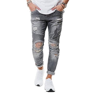 jeans shorts zerrissen herren